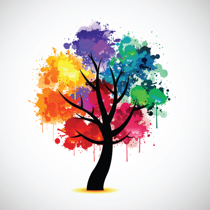 Colorful-tree-5